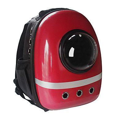 Gato Cachorro Tranportadoras e Malas Astronauta Cápsula Transportador Animais de Estimação Transportadores Portátil Respirável Sólido de 5109131 2017 por R$152,07