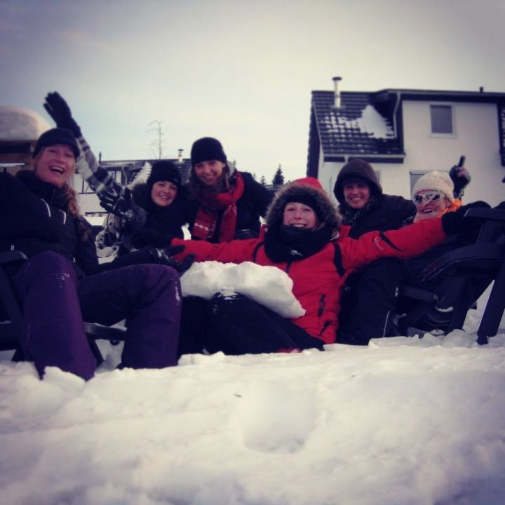 Snow with friends - like ever!