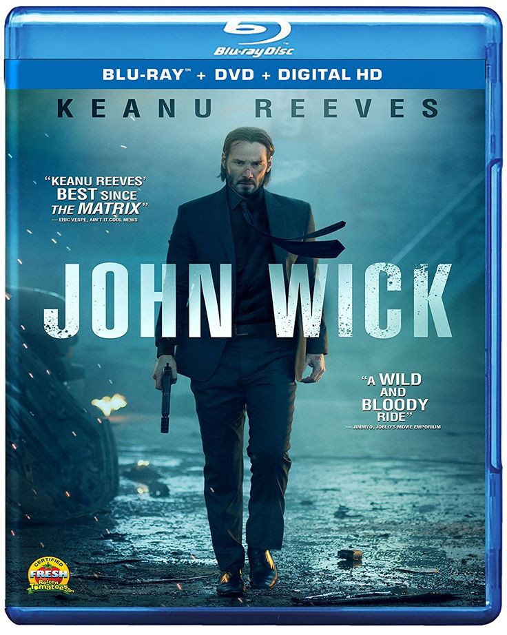 Image result for john wick blu ray
