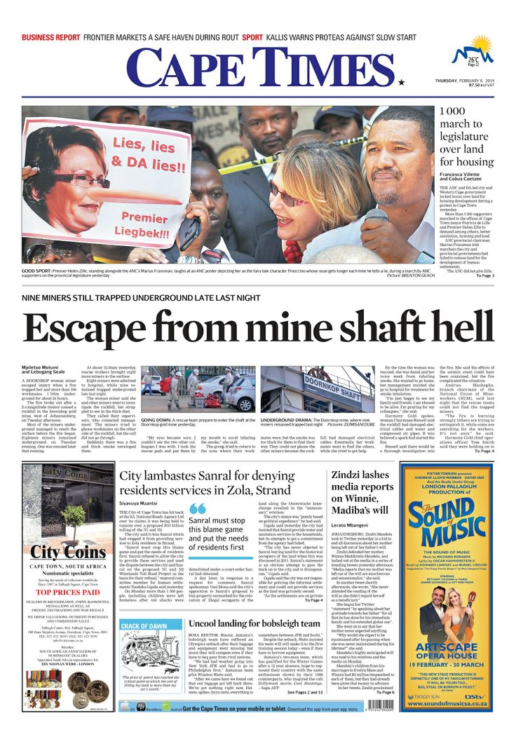 News making headlines: Nation gripped by protests