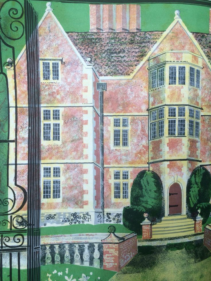 Anderson Manor from by Rena Gardiner from Dorset: The East Winerborne Valley