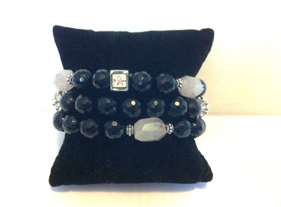 Believe on the Cure inspired Bracelet Set by ByYoursTrulee on Etsy, $16.00