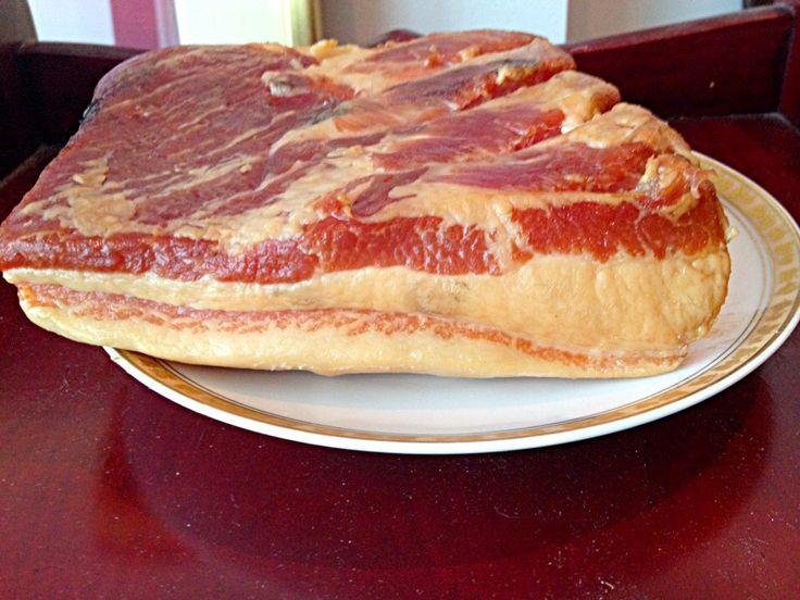 Cold Smoked Mangalitsa Bacon