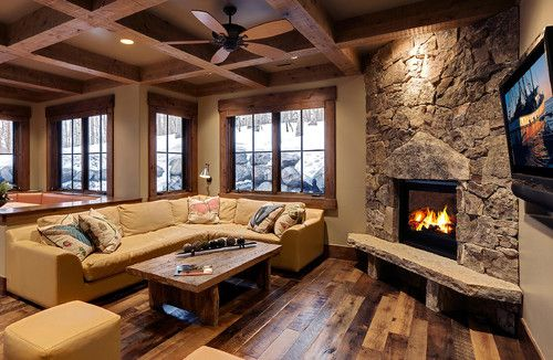 177 white pine - new build - contemporary - family room - salt lake city - Jaffa Group Design Build