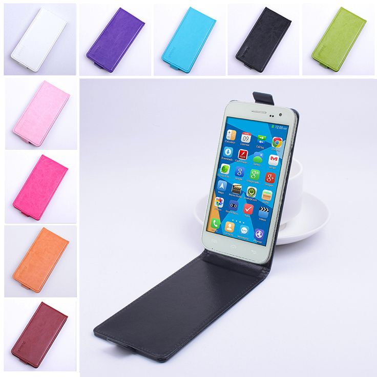 Fashion 9 Colors Phone Case for Doogee DG310 Flip Leather Cover Case for DOOGEE Voyager2 DG310 Vertical Back Cover