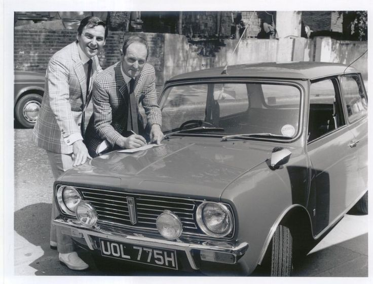Mini Clubman & Bob Monkhouse original black & white Press Photograph | Vehicle Parts & Accessories, Automobilia, Press Kits & Press Photos | eBay!