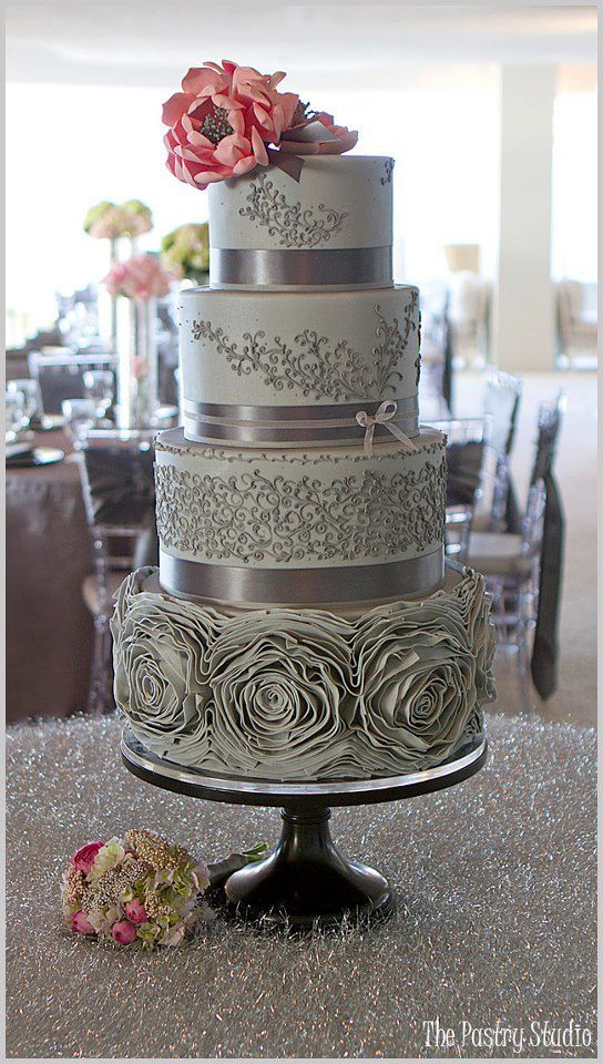 Platinum Wedding Cake