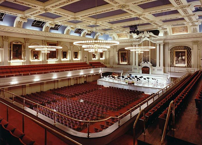 Mechanics Hall In Worcester MA