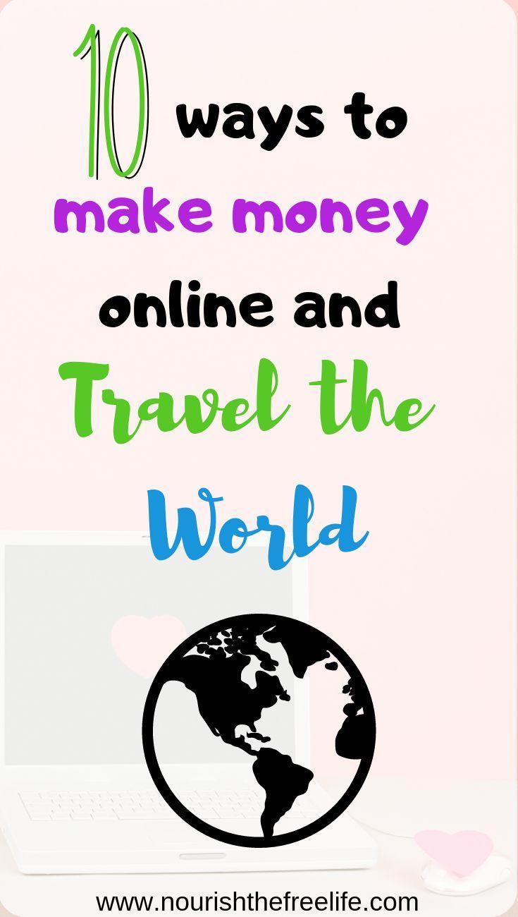 10 Easy Ways To Earn Money Online Nourish The Free Life Easy Online Jobs Ways To Earn Money Money Online