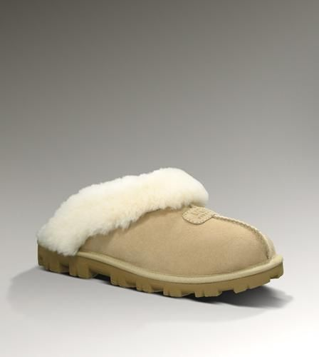 UGG Coquette Slipper--THIS IS JUST WHAT I THINK OF WHEN I THINK OF A COQUETTE'S CHOICE OF FOOTWEAR! FOR A TRAMP I THINK OF CROCS!!