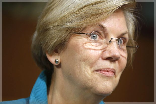 """Elizabeth Warren on Barack Obama: """"They protected Wall Street. Not families who were losing their homes. Not people who lost their jobs. And it happened over and over and over"""""""