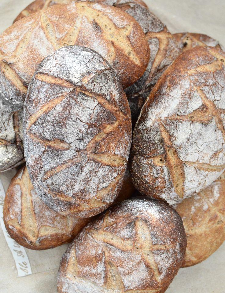 My crusty gluten free sourdough breads