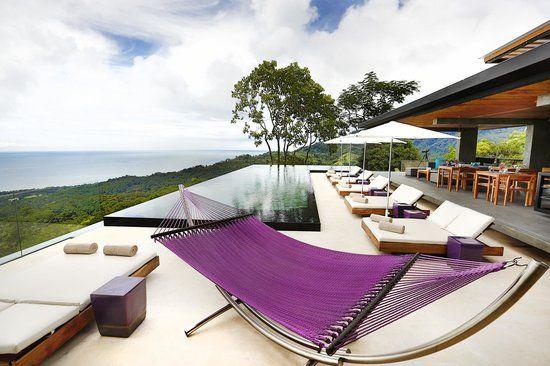 Super secluded honeymoon suites.