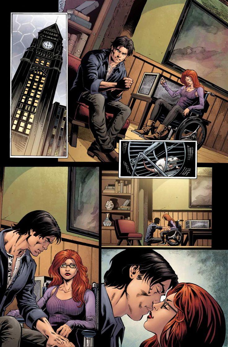 586 best images about DC kissing on Pinterest | Wonder ...