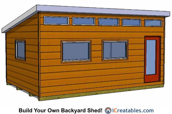 12x16 studio office shed plans                                                                                                                                                      More