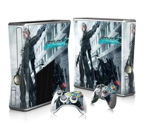 Metal Gear Rising Revengeance sticker skin for Xbox 360 slim - Decal Design