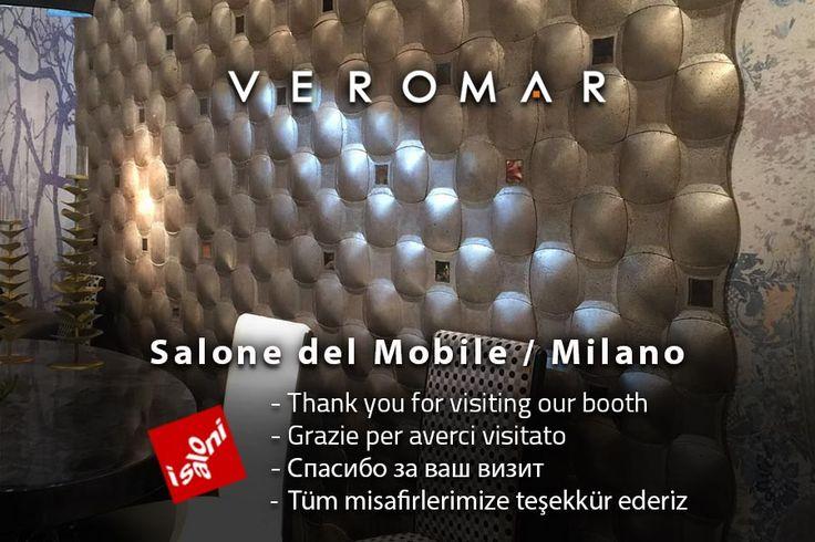 #VeromarMarble #Milano #SaloneDelMobile