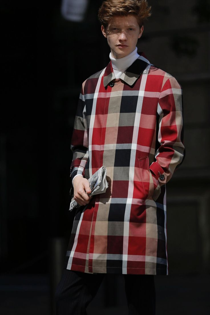 check coat from black label crestbridge
