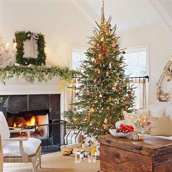Wohnzimmer Weihnachtlich Dekorieren 30 Ideen – CarozziOliva.Com