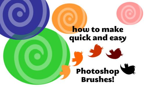 Photoshop Class: Quick and Easy Brushes!