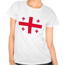 Georgian Flag Tee Shirts #Womens #Tee #Ladies #Shirt #Flag #Country #Banner #Nation #DWW25921 #Customize #Ecommerce #Smallbiz #Style #Shopping