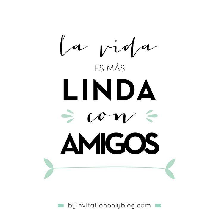 By Invitation Only | {inspirational Monday} Ideas para celebrar el Dia del Amigo | http://byinvitationonlyblog.com