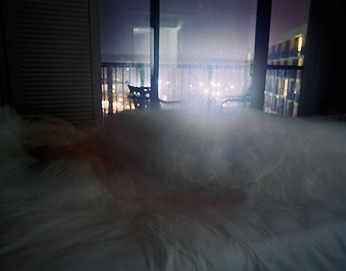 Untitled by Robert Knight. long exposure photograph of an insomniac's night