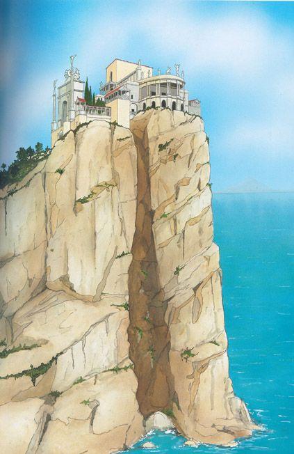 Reconstruction of Villa Jovis at Capri Mare Nostrum