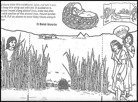 knutselwerkje Mozes voor kleuters