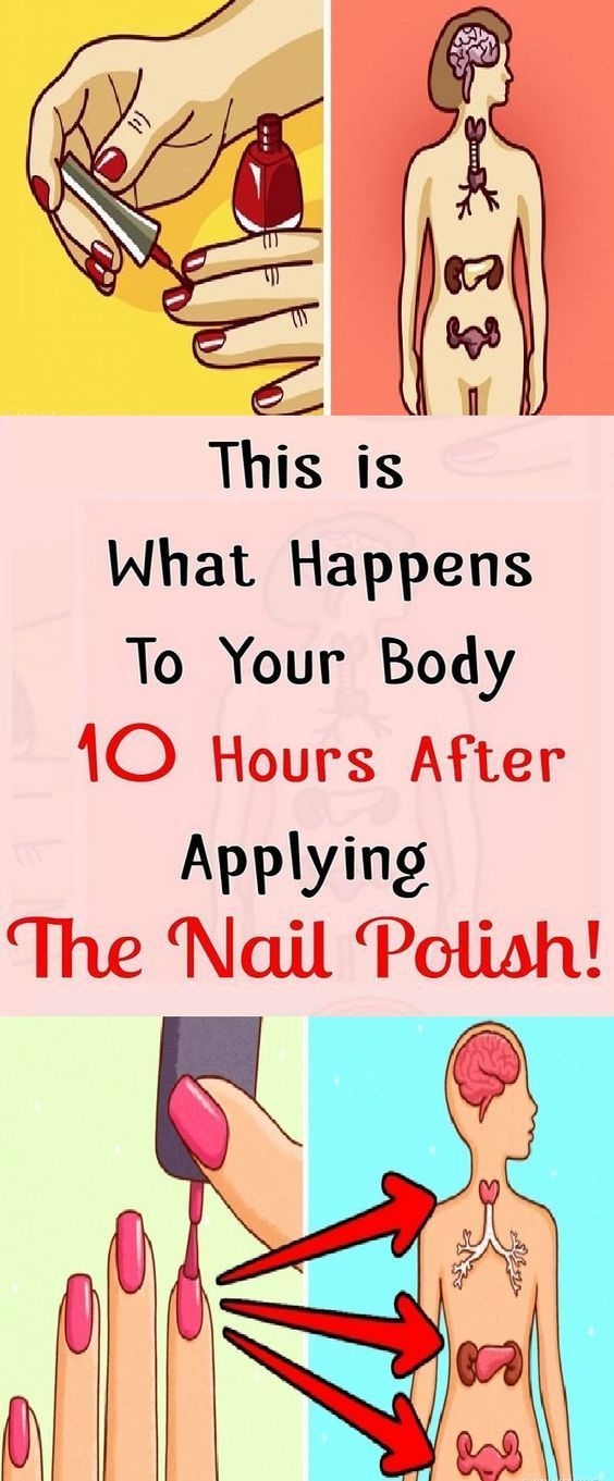 THIS IS WHAT HAPPENS TO YOUR BODY 10 HOURS AFTER PUTTING ON NAIL POLISH THIS IS WHAT #HAPPENS TO YOUR #BODY 10 HOURS AFTER #PUTTING ON #NAIL #POLISH