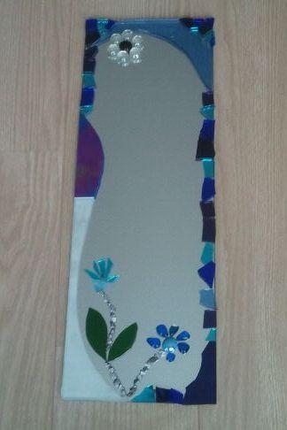 Spiegel van mozaïek