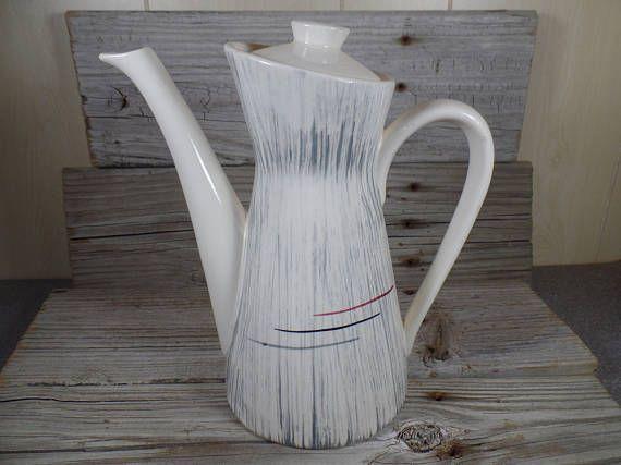 1950er Jahre Wartungsset Keramik Kaffee Tee Topf Retro-Küche