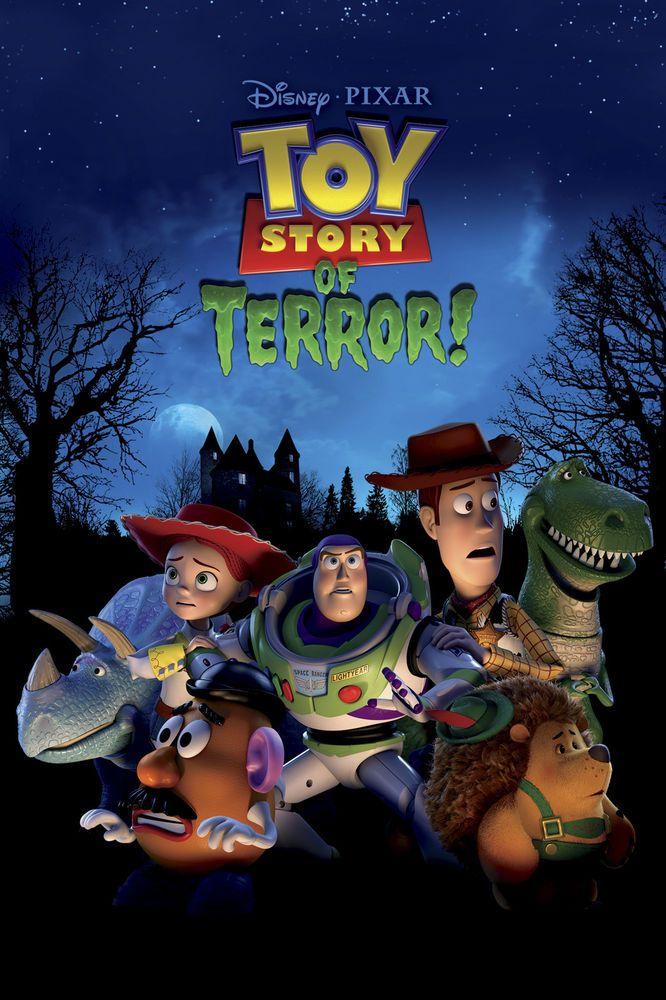 Toy Story of Terror DVD Disney Pixar Celophane Sealed 100% Brand New Unused BNIB