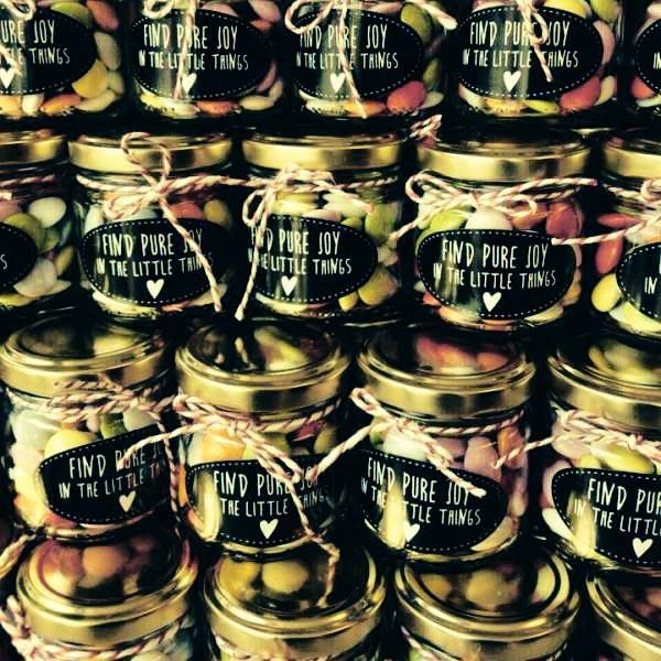 Find Pure Joy in little things! #jars #labels #gifts