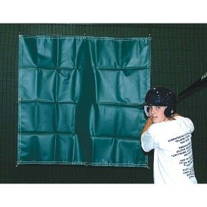 Batting Tunnel Backdrop* Heavy-duty 22 oz. vinyl backdrop designed to protect the netting behind the batter adding, years to the life of your net.