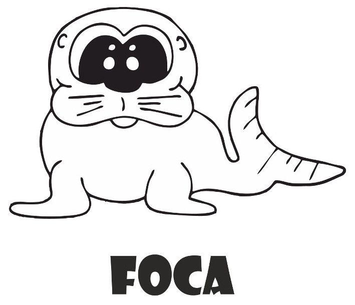 Foca Para Colorear Character Art Fictional Characters