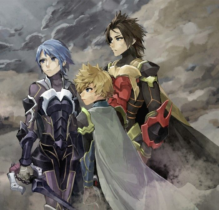 Aqua, Ven, & Terra - Kingdom Hearts Birth by Sleep