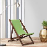 Trendz Ming Deck Chair Honey And Green