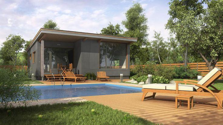 Dřevěné mobilní domy celoroční - LEVNĚ