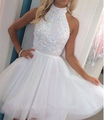2016 Hot Sales Beautiful White, Short Prom Dresses,Homecoming Dresses,Cocktail…