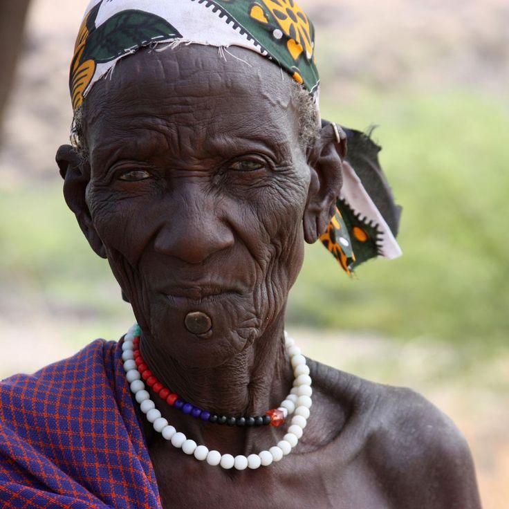 Turkana old man
