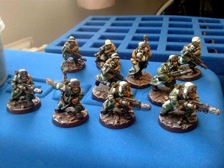 Astra Militarum, Imperial Guard, Meltagun, Valhallan Ice Warriors, Valhallans