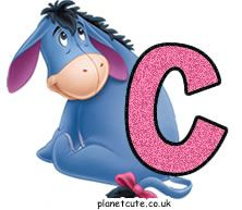 Planet Cute - Alphabet - Eeyore - Image