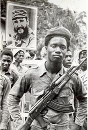 Africans and Cubans join in struggle together for liberation against imperialism