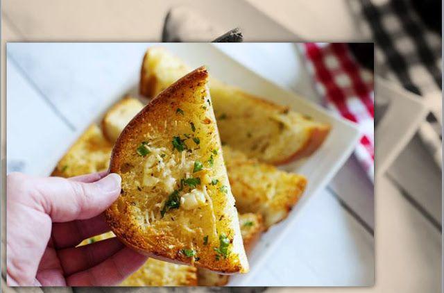 Resep Garlic Bread Parmesan | Roti Bawang Putih Bakar Super Lezat