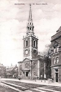 St Mary`s Islington,London