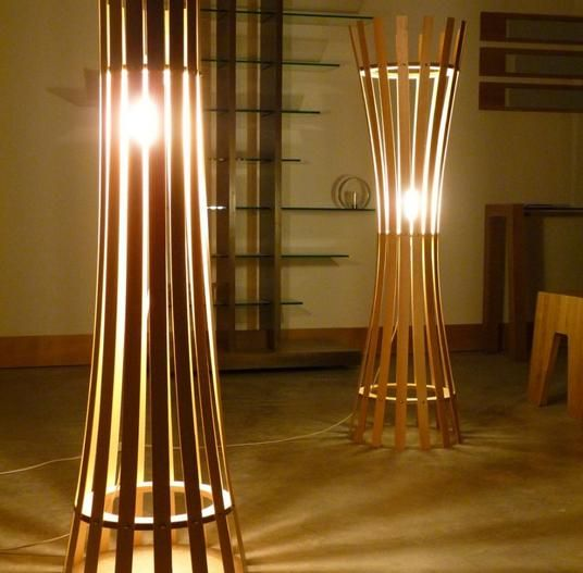 Exquisitely Handmade Curved Floor Lamp to light up your homes this Diwali @ Rs. 8975 only at www.storemate.com !!
