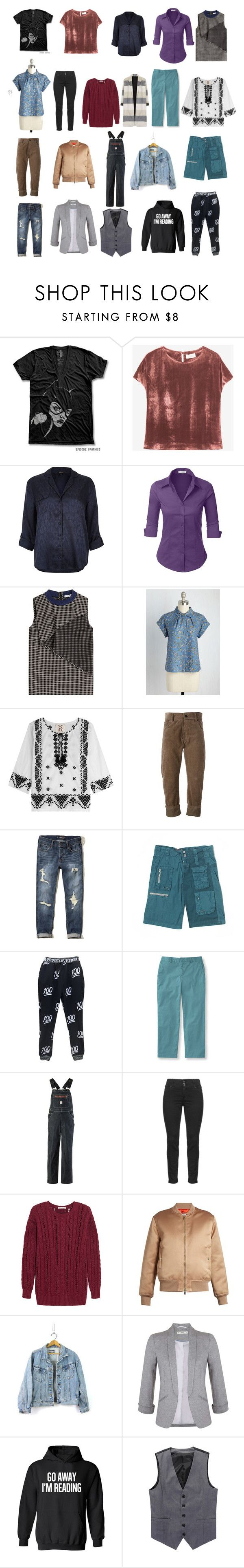 """""""FemBoi 7 Capsule Pt. 1"""" by veganchefmarie on Polyvore featuring Toast, River Island, LE3NO, Carven, Figue, Haider Ackermann, Hollister Co., Pete & Greta, L.L.Bean and Pointer Brand"""