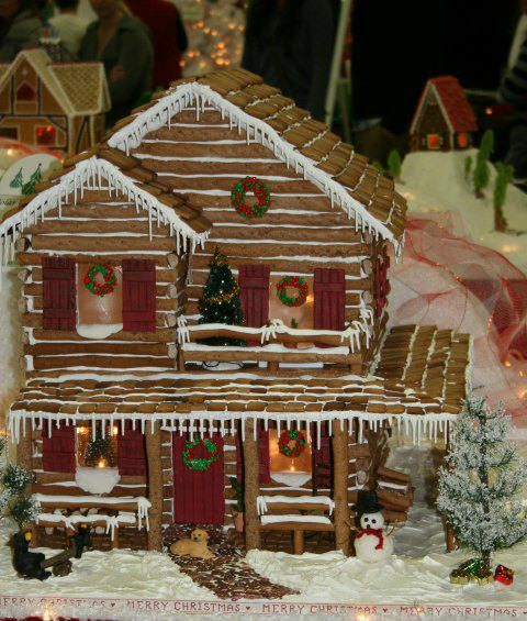 2227 Best Gingerbread Houses Images On Pinterest Christmas