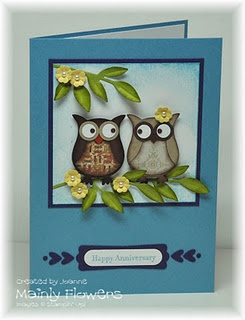 You know who I was thinking of here .... Owl card